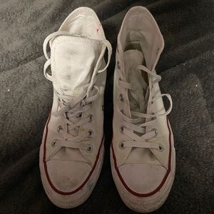Men's White Converse Shoes